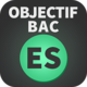 Logo Objectif BAC ES 2016 Android