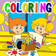Logo Coloring Book. Games for Kids