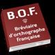 Logo Bréviaire d'orthographe française