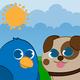 Logo Funny Animals pour bébés Free