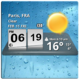 Logo 3D Digital Weather Clock