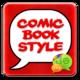 Logo Superhero Comic Book SMS Theme