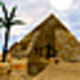 Logo Egyptian Pyramids 3D Screensaver