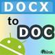 Logo Docx to Doc (Word 97 – 2003)