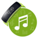 Logo Music Player for Gear Fit