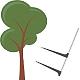 Logo KS Cubage – Bois sur pied