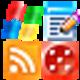 Logo 16×16 Pixel Toolbar Icons