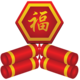 Logo Pétards du nouvel an chinois Android