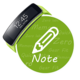 Logo Gear Fit Color Note