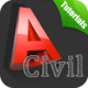 Logo Learn Autocad civil
