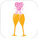 Logo Wedding Drink iOS