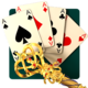 Logo 21 Solitaire Card Games