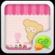 Logo GO SMS Pro Pink Sweet theme