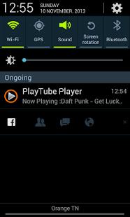 Capture d'écran PlayTube pour YouTube demo