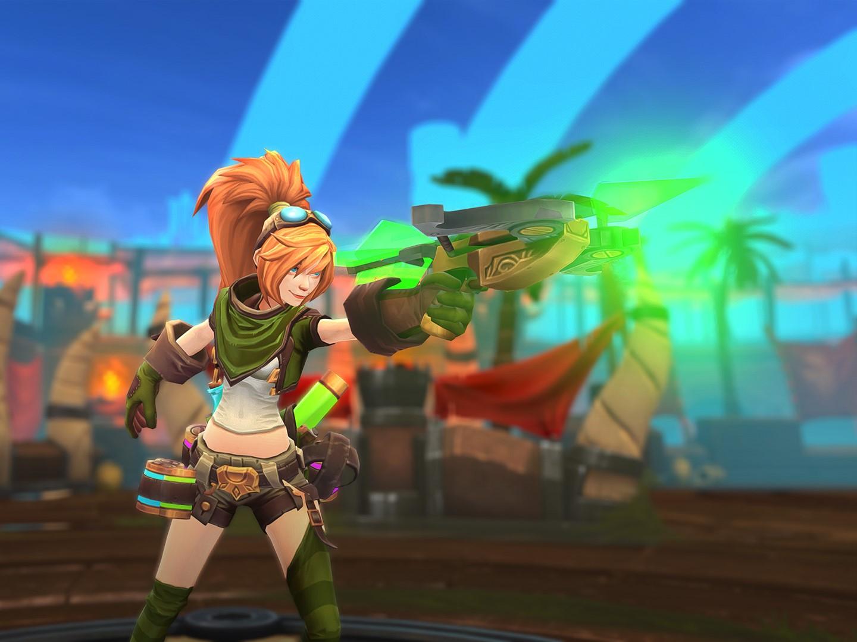 Capture d'écran Battlerite Royale