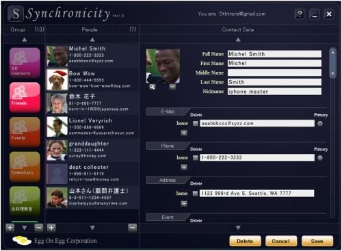 Capture d'écran Synchronicity