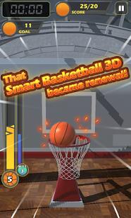 Capture d'écran Smart Basketball -3D Basket-