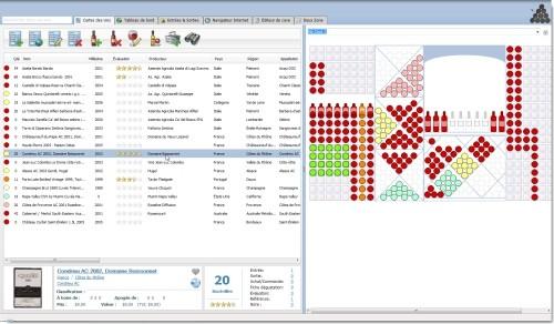 Capture d'écran Simple Cellier