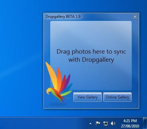 Capture d'écran Dropgallery