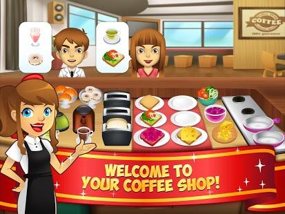 Capture d'écran My Coffee Shop – Cafétéria