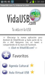 Capture d'écran VidaUSB.com
