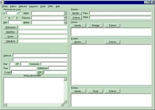 Capture d'écran GeneAPP