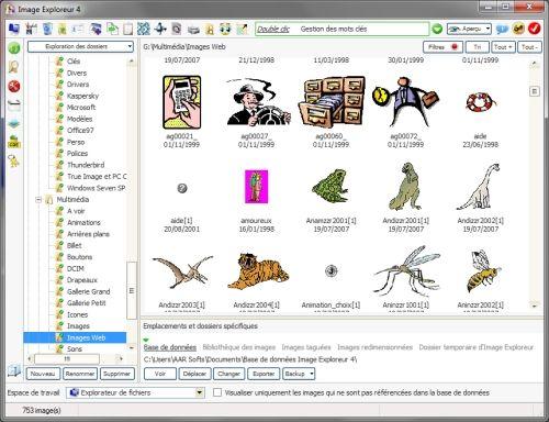 Capture d'écran Image Exploreur