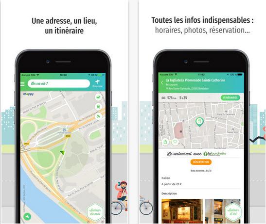 Capture d'écran Mappy Android