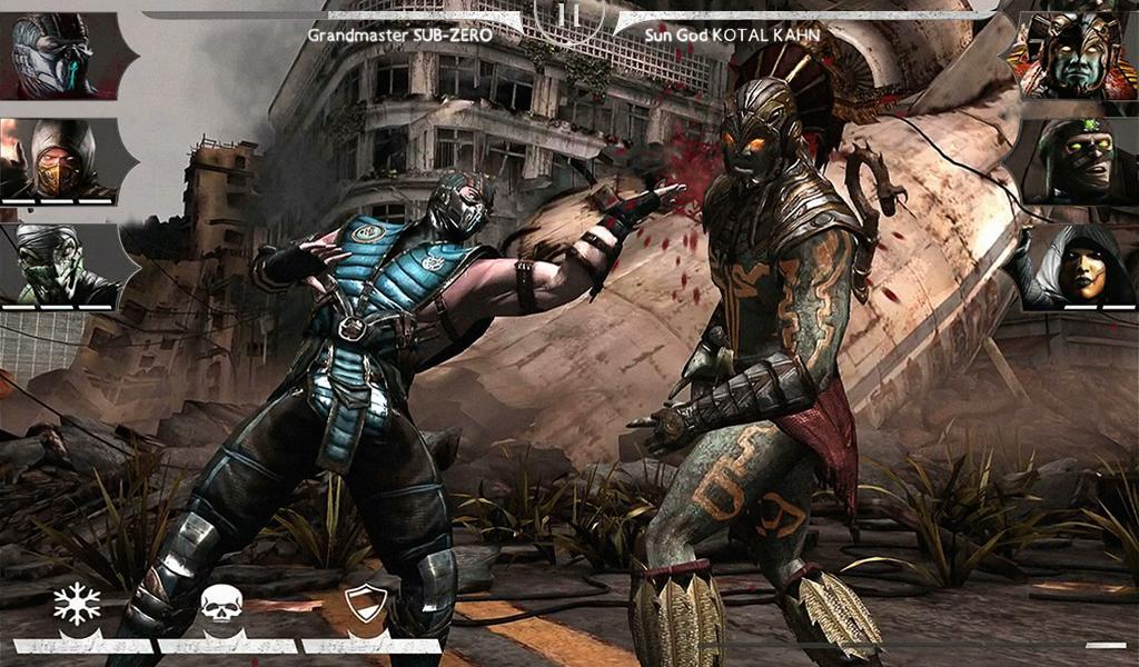 Capture d'écran Mortal Kombat X Android
