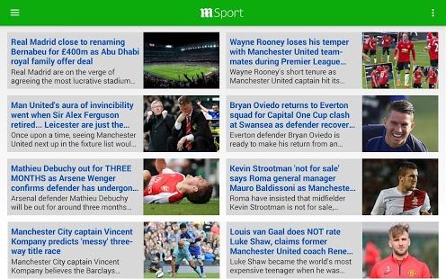 Capture d'écran Daily Mail Online