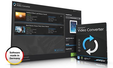 Capture d'écran Ashampoo Video Converter