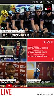Capture d'écran Sport24 : l'actualité sportive