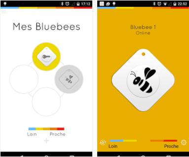 Capture d'écran Bluebee 2 iOS