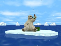 Capture d'écran 3D Arctic Bear Advanced