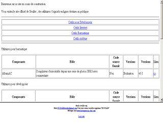 Capture d'écran API VDCS
