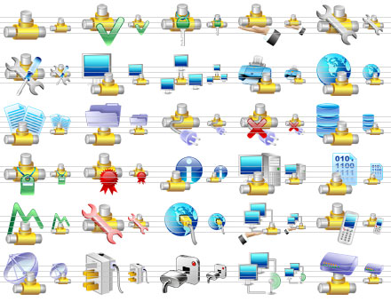 Capture d'écran Small Network Icons