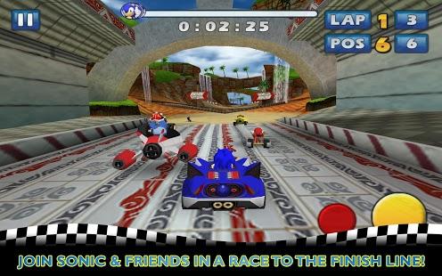 Capture d'écran Sonic