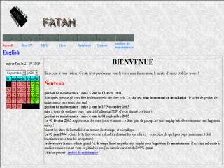 Capture d'écran Gestion de maintenance