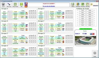 Capture d'écran Coupe du Monde 2014 Brésil