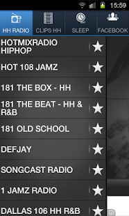 Capture d'écran HIP HOP RADIO