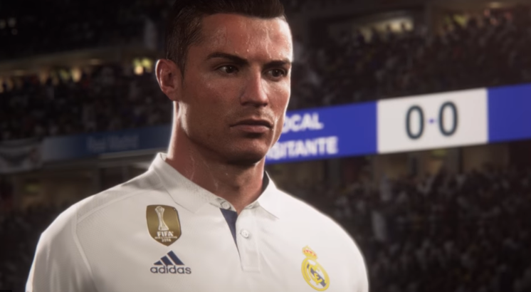 Capture d'écran Mode Coupe du Monde FIFA 18