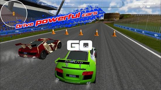 Capture d'écran Island Racer Lite