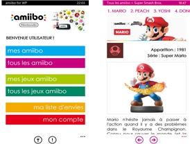 Capture d'écran Amiibo pour Windows Phone