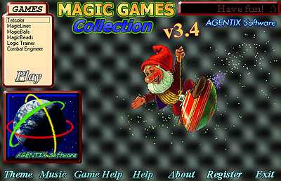 Capture d'écran Magic Games Collection