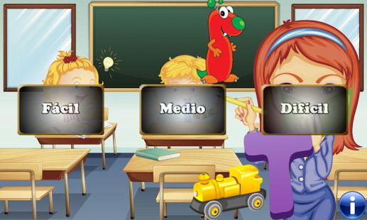 Capture d'écran Alphabet espagnol pour enfants