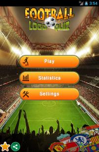 Capture d'écran Logos de Futbol Quiz