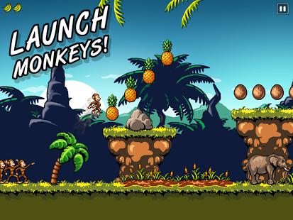 Capture d'écran Monkey Flight 2