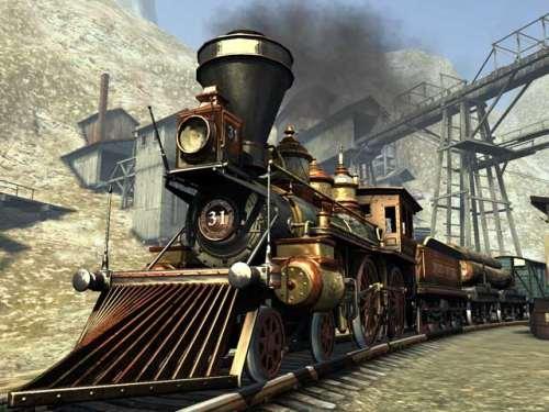 Capture d'écran Western Railway 3D Screensaver