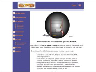 Capture d'écran Mediatheque