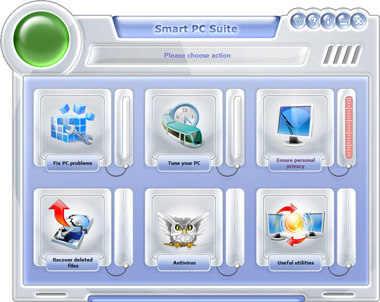 Capture d'écran Smart PC Suite